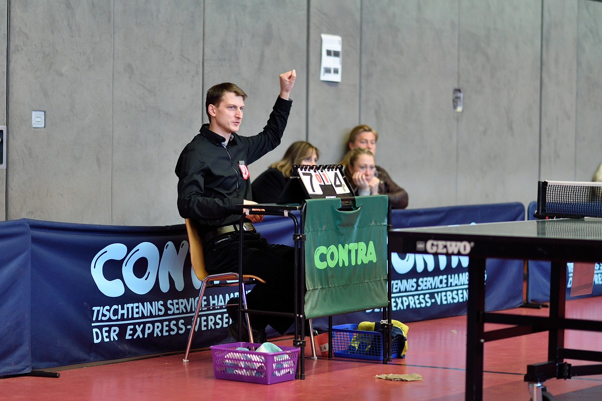 Steve Köhler im Spiel Tobias Schöneberndt vs. Nisse Thüne