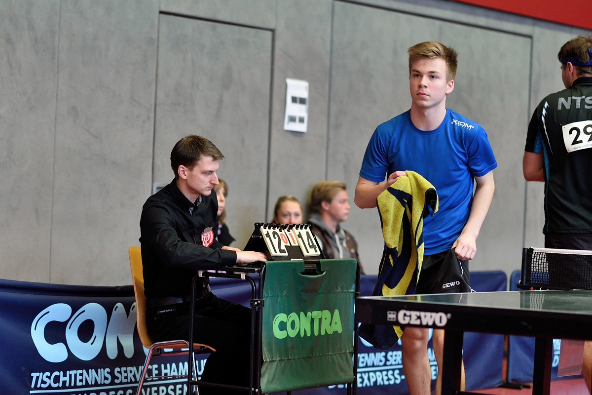 Tobias Schöneberndt vs. Nisse Thüne