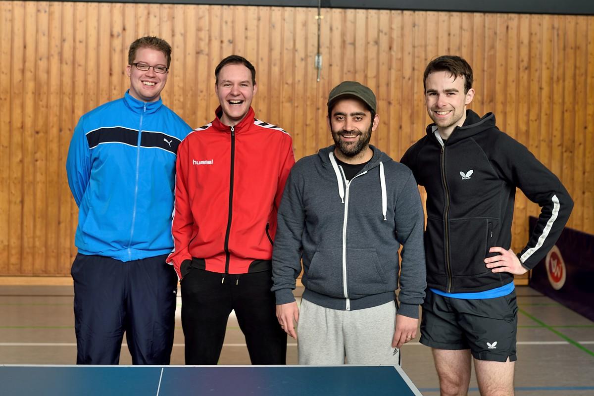 Alexander Pantel, Malte Samsche, Mehdi Tabibzabeh, Michael Wandrey