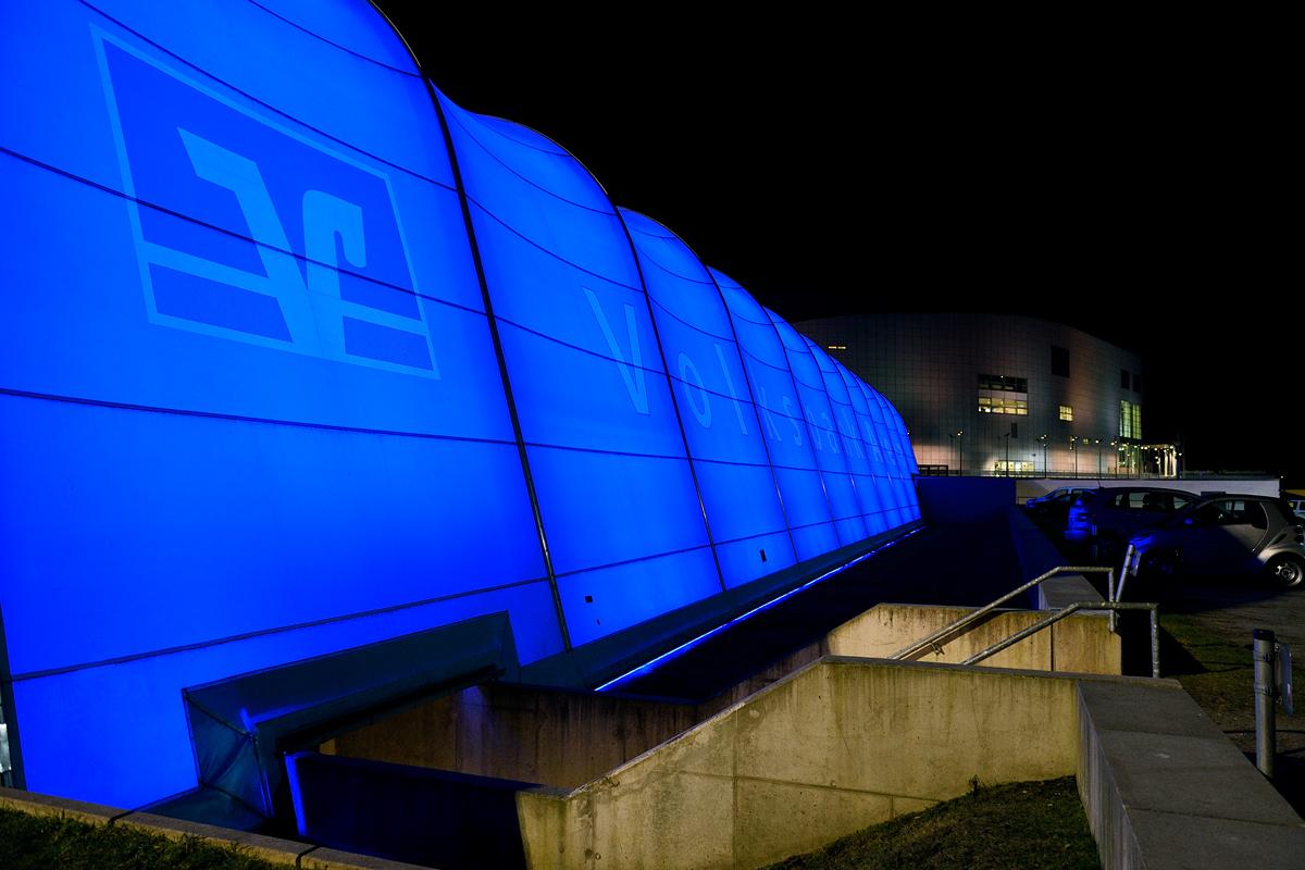 Die Volksbank-Arena in Hamburg