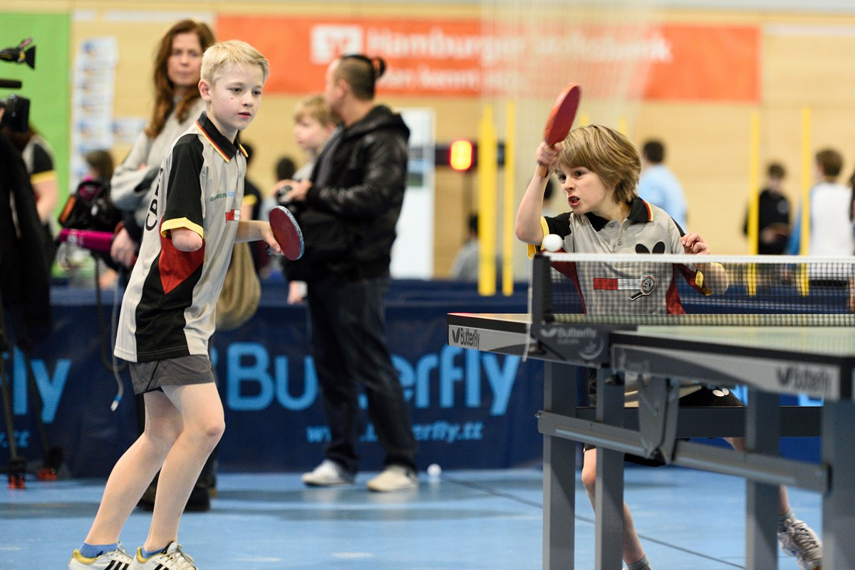 Hamburg tischt auf - das Tischtennis Event in 2015 in der Volksbank-Arena und in der O2-World