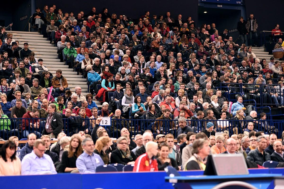 Hamburg tischt auf - Borussia Düsseldorf vs. Fulda in der O2 World Hamburg